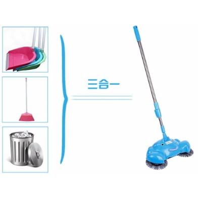 ~環保免電手推式全自動家用掃地機~自動掃地機掃把清潔打掃拖把免電