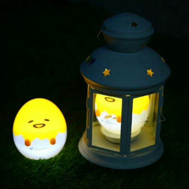 蛋黃哥溫暖可愛小夜燈zakka 卡通雜貨sanrio 舒壓小雞燈