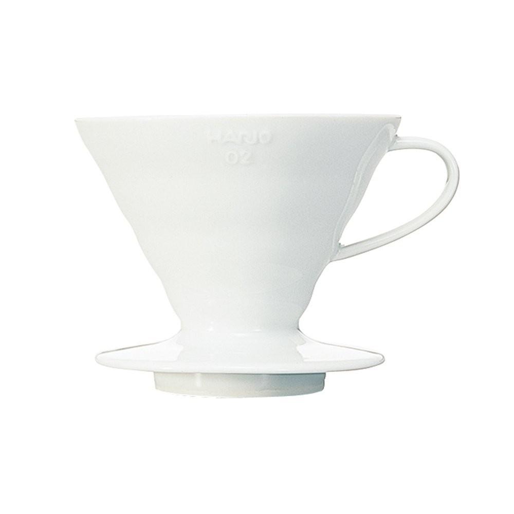 北國的店 在台Hario V60 白色陶瓷圓錐濾杯1 4 杯用VDC 02W VDC02W