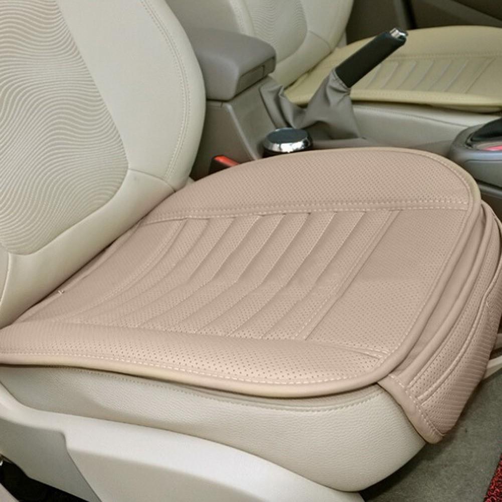 汽車 汽車坐墊四季 單片防滑 墊子 無靠背車用坐墊竹炭座墊