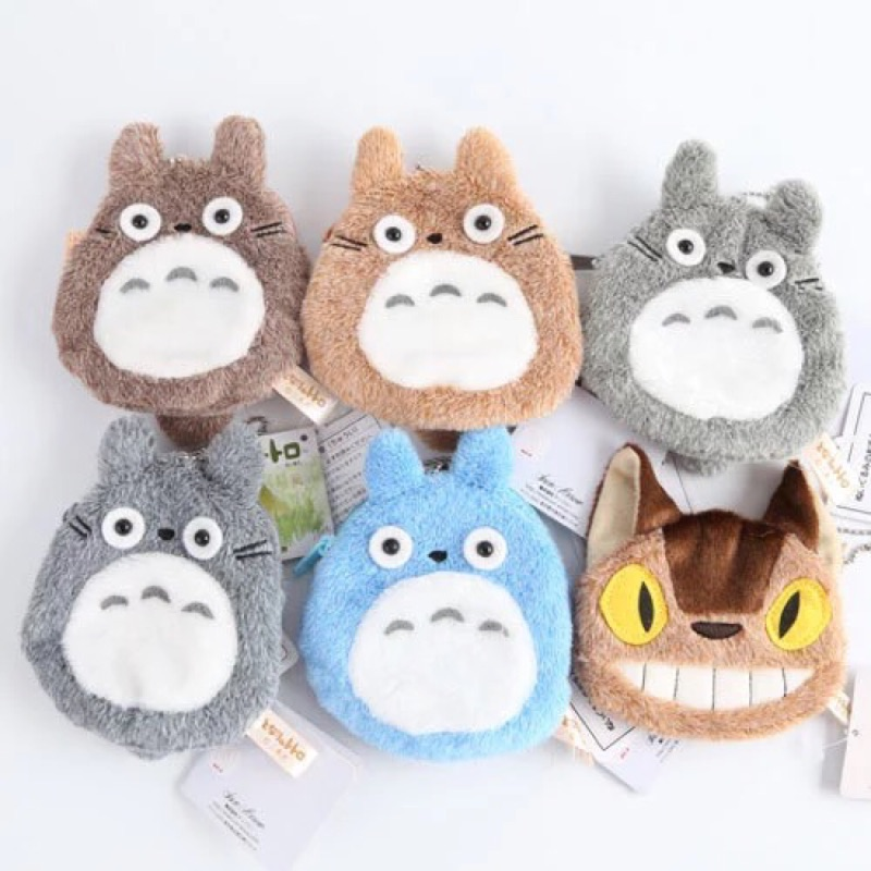 Totoro 豆豆龍龍貓龍貓車零錢包卡包