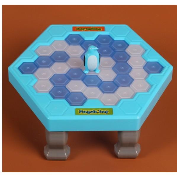 拯救企鵝破冰台拆牆玩具兒童早教桌面遊戲親子互動益智玩具