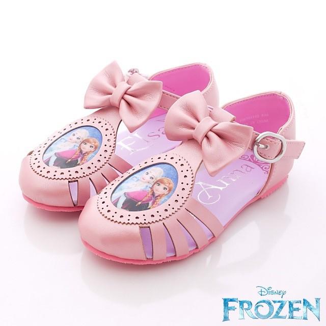 童鞋~星空嵐~ 正品冰雪奇緣護趾涼鞋款粉