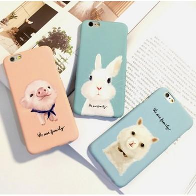Grays x Iphone 蘋果apple iphone5 5S SE 手機殼小兔兔子硬