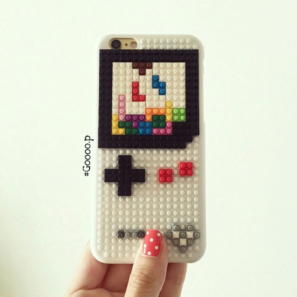 樂高積木DIY 組裝iphone 手機殼Game boy 款♡iphone6 iphone