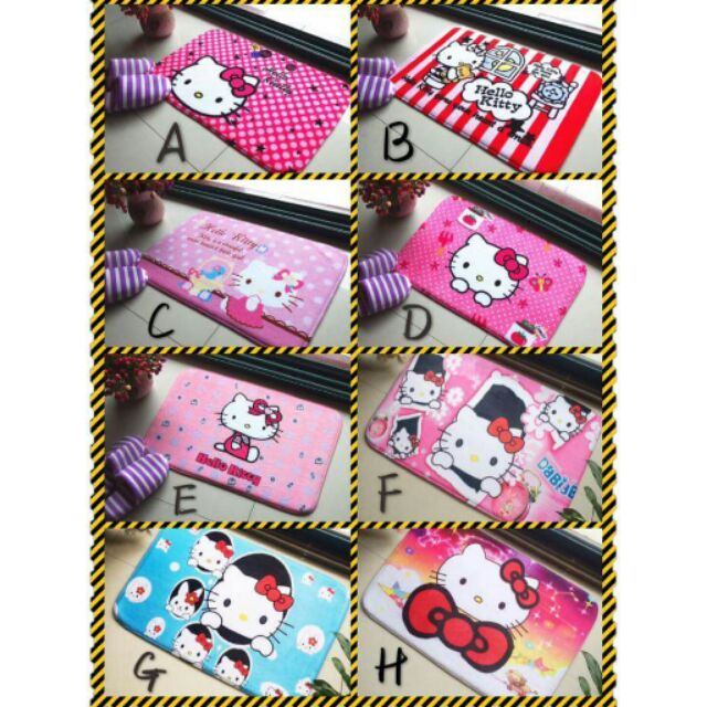 ~A038 ~Holle kitty 地墊