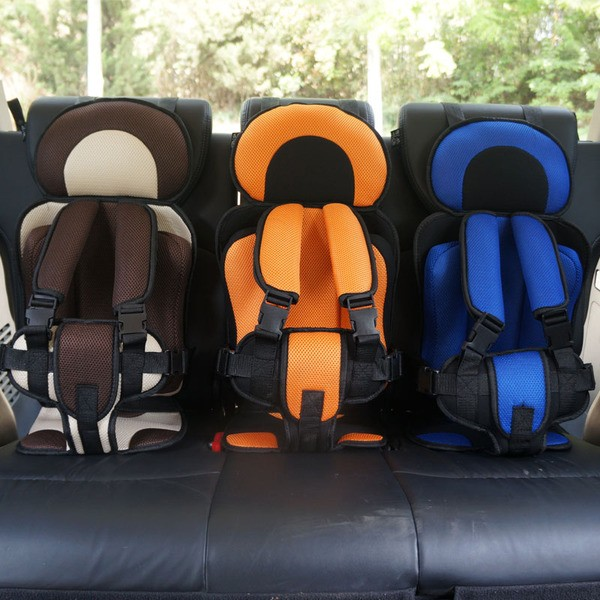 兒童安全座椅汽車坐墊簡易便攜式車載小孩兒童寶寶安全座椅坐墊用大號小號