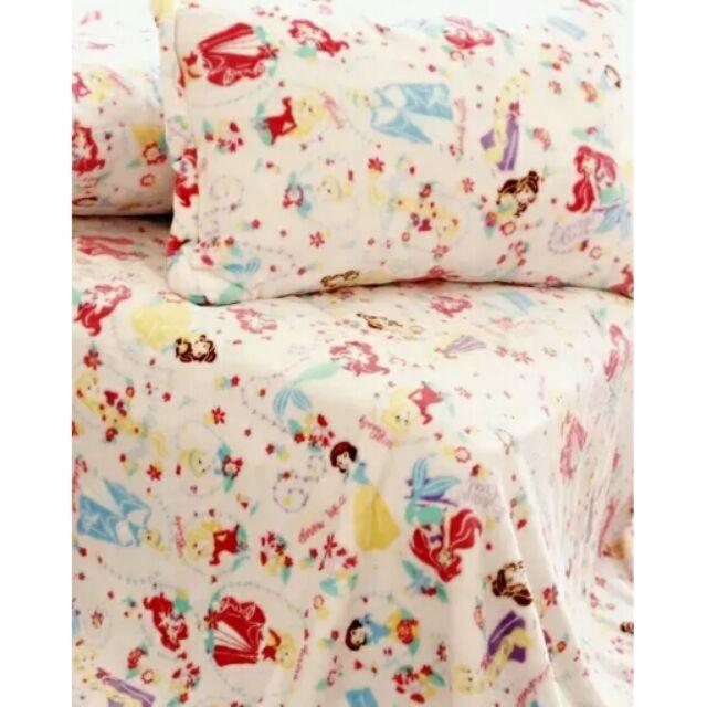 公主系列毯子美人魚白雪公主長髮公主灰姑娘毯子空調毯