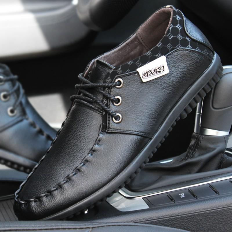 皮鞋男真皮系帶 商務 鞋透氣皮鞋英倫 潮鞋帆布鞋休閒鞋平牛津鞋樂福鞋豆豆鞋涼鞋羅馬鞋 鞋懶