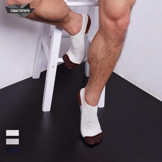 ~TOMATOPAPA X男內著~ 男孩3撞色短筒紳士襪