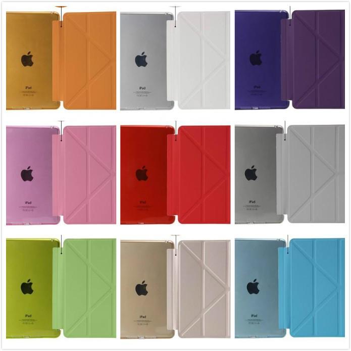阿痞3C 蘋果I Pad MINI4 變型金剛保護套平板皮套支架平板套保護套TPU 超薄