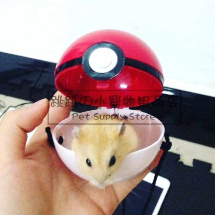 ~ ~小寵物拍攝道具寶貝球10 cm Pokemon GO 皮卡丘大師球一起收服神奇寶貝展