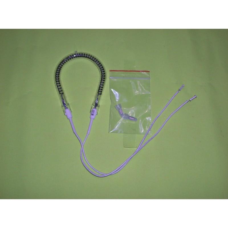 450W 碳素電暖器燈管附奶嘴端子2 可取代鹵素效能更佳遠紅外線電熱器電熱管