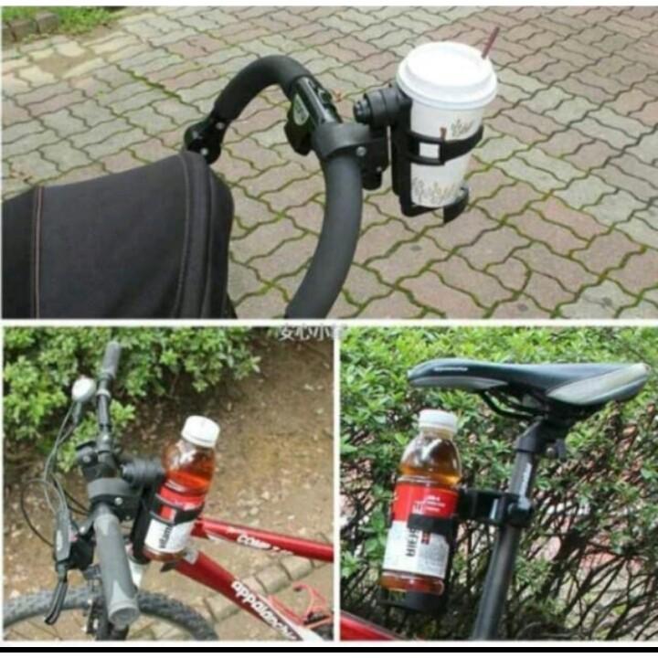 ~D01 ~飲料架嬰兒車童車自行車飲料架水壺架隨意掛水壺架杯架寶特瓶推車飲料架推車奶瓶架