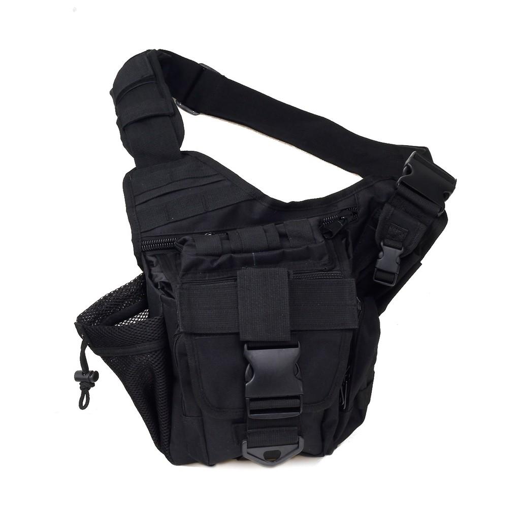 戶外用品多 單肩斜挎包攝影包戶外背包黑色