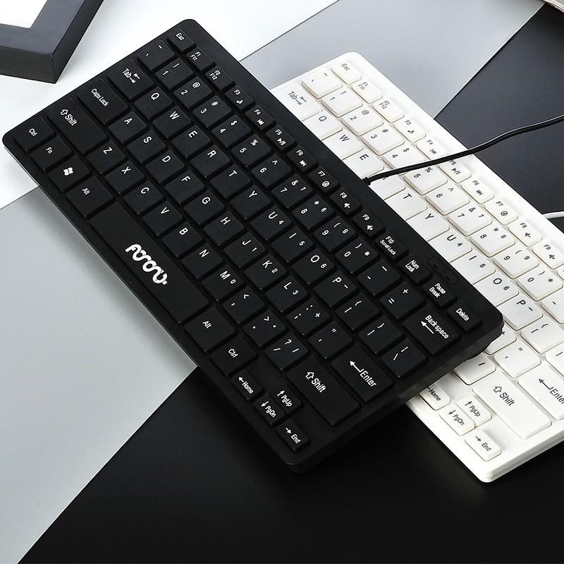 ~鍵盤~瑪尚有線鍵盤筆記本外接鍵盤超薄USB 巧克力外置電腦小鍵盤