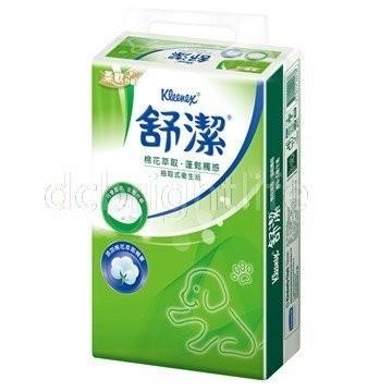 舒潔®棉花萃取抽取式衛生紙110 抽