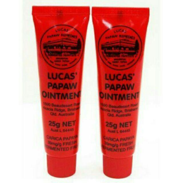 ~澳洲Lucas 木瓜霜 ~澳洲老牌Papaw ointment 木瓜霜修護霜萬用霜護唇膏