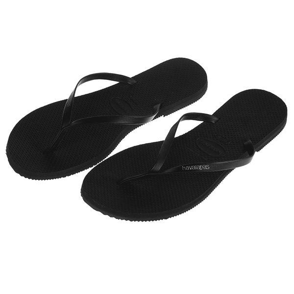 Havaianas 哈瓦仕細帶小牛皮巴西拖沙灘拖鞋女HF6F3206B9