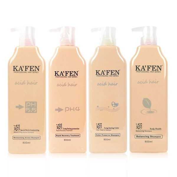 KAFEN 卡氛Acid Hair 亞希朵酸性蛋白系列洗髮精滋養霜800ml