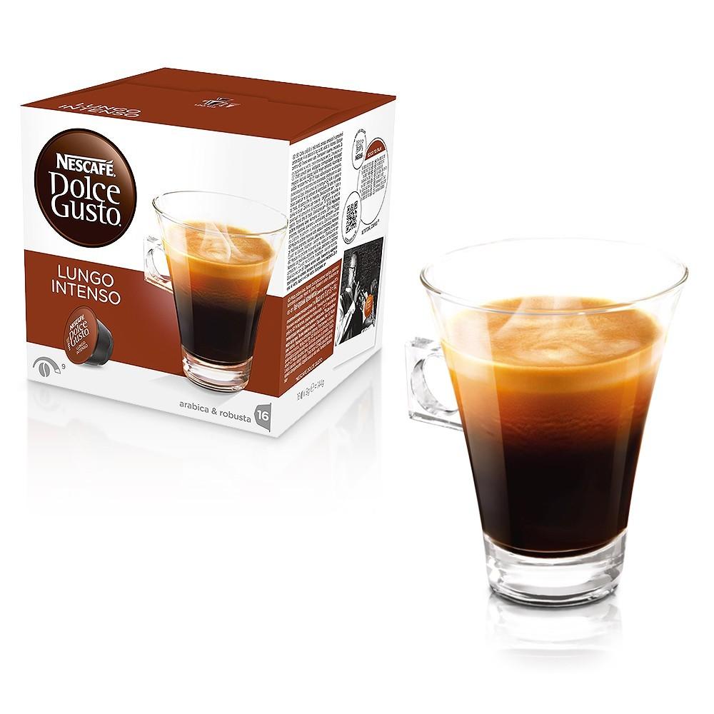 雀巢Dolce Gusto 美式濃黑濃烈咖啡LUNGO INTENSO 膠囊