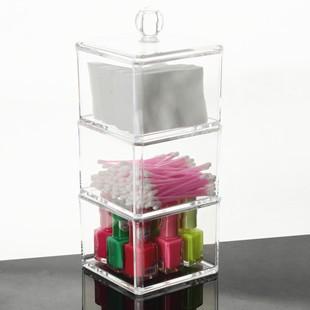 DOCOA ▲ 壓克力透明化妝盒首飾盒收納盒小