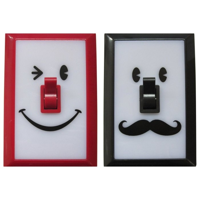 ~ ~ SPICE Smile switch LED 微笑小夜燈掛燈壁燈~快樂兒~