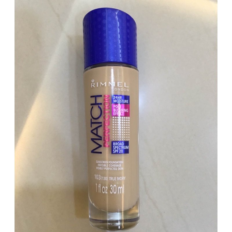 ( )美版 Rimmel Match Perfection 粉底液