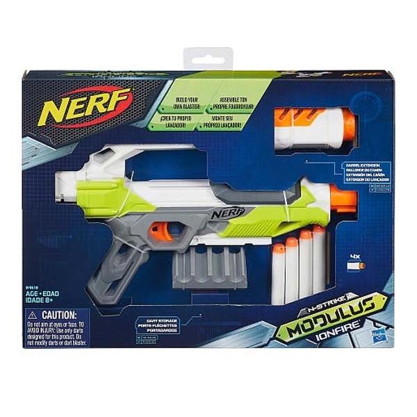 2016 新品NERF 自由模組系列離子火手槍孩之寶