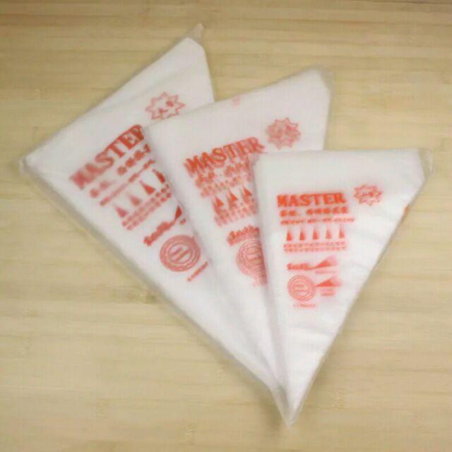 ~禎巧妙~裱花袋加厚奶油擠花袋拋棄式擠糖霜一次性大中小號加厚裱花袋三角袋擠醬袋奶油袋约10