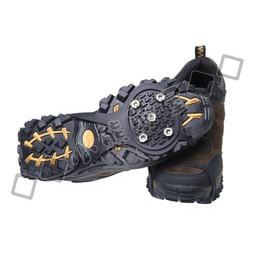 戶外活動旅遊登山露營裝備簡易型輕便防滑冰爪防滑鞋套防滑鞋釘五齒5 齒攜帶方便大人小孩