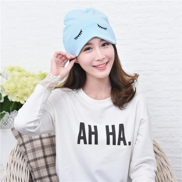 青橙樹月子帽夏天產婦帽孕婦帽子春 薄款透氣產后全棉頭巾