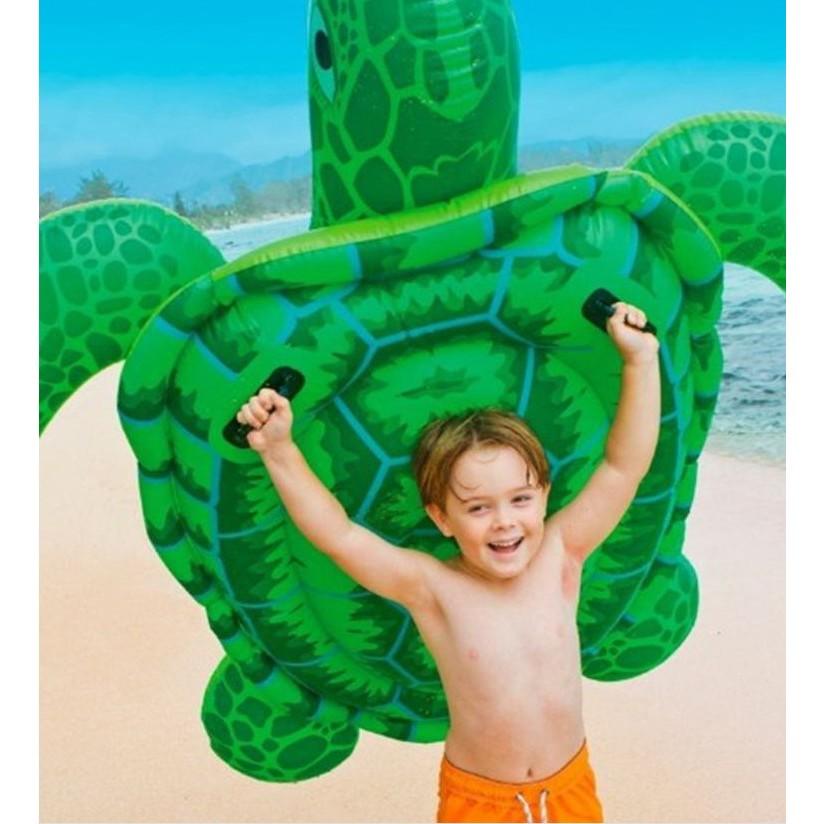 一露遊你買一送一INTEX 56524 大海龜坐騎游泳兒童戲水都好玩191cm 170cm