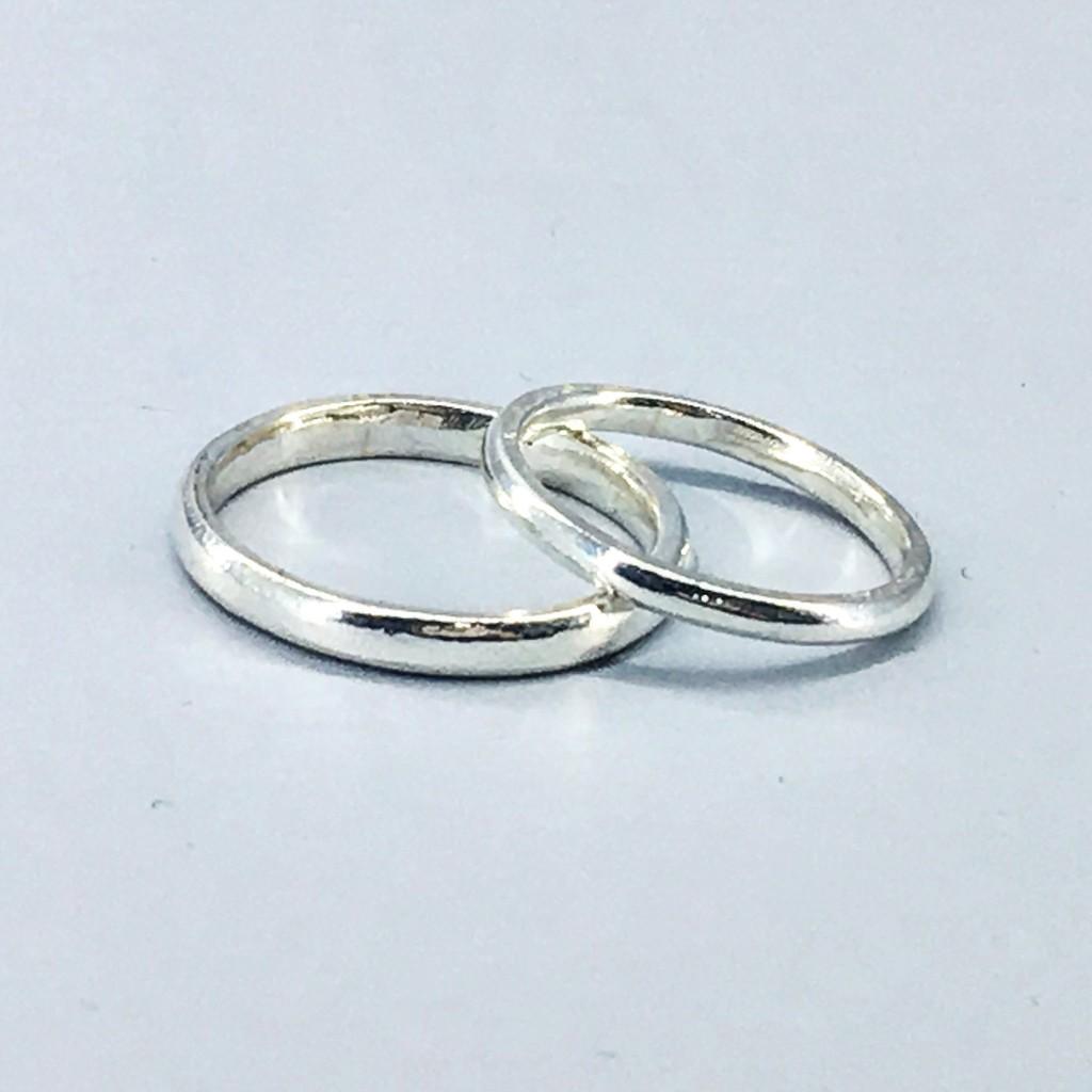 [映象簡約] 原創 客製手作極簡純銀飾品訂做男戒女戒對戒尾戒925 純銀999 純銀戒指戒