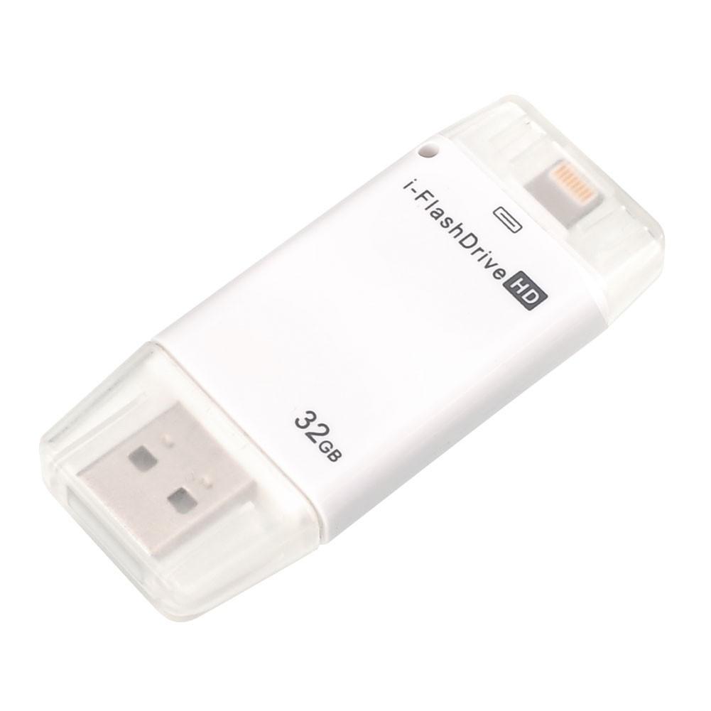 i Flash 驅動器32GB USB OTG 存儲棒驅動器U 盤用於Apple iOS