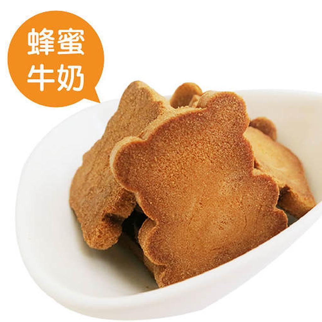 ~嘉冠喜~小熊煎餅蜂蜜牛奶口味賣場同品牌煎餅可混搭滿5 包出貨黑貓宅配