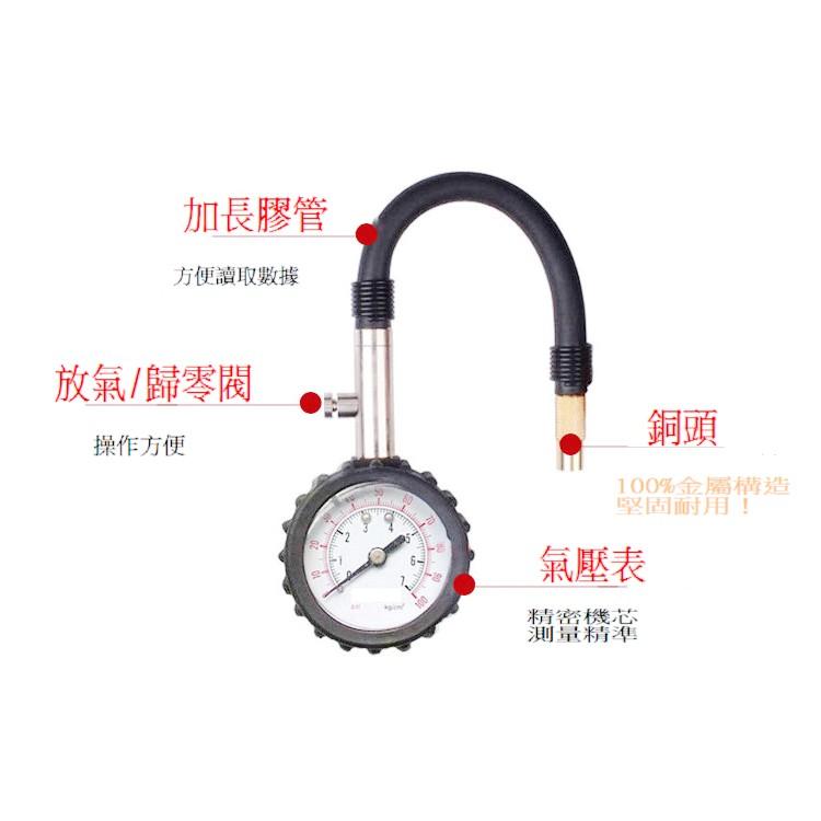 純銅!胎壓表胎壓偵測器胎壓測量表胎壓計胎壓器打氣量壓表機車汽車 精準測壓表氣壓表TPMS