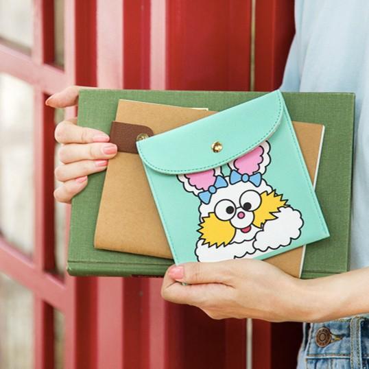 pai pai anna 韓國調皮小兔收納包衛生棉包雜物包