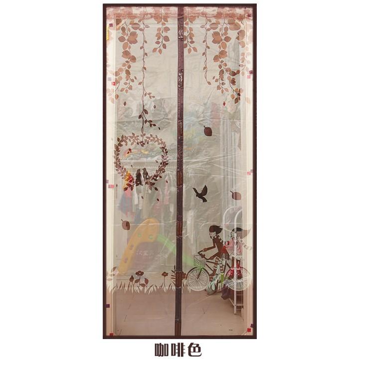 防蚊門簾加密磁性防蚊門簾 隔斷簾廚房軟紗門簾臥室防蒼蠅蟲紗窗紗門