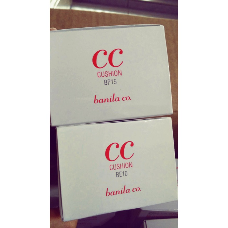 Banila Co CC Cushion CC 氣墊15g 色號BP15 BE10 都有附