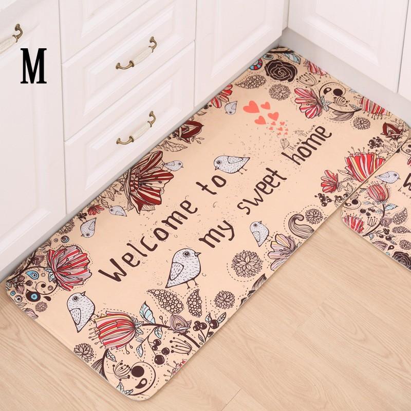 印花居家裝飾地毯廚房浴室客廳走廊地毯吸濕防滑家居 多尺寸擇