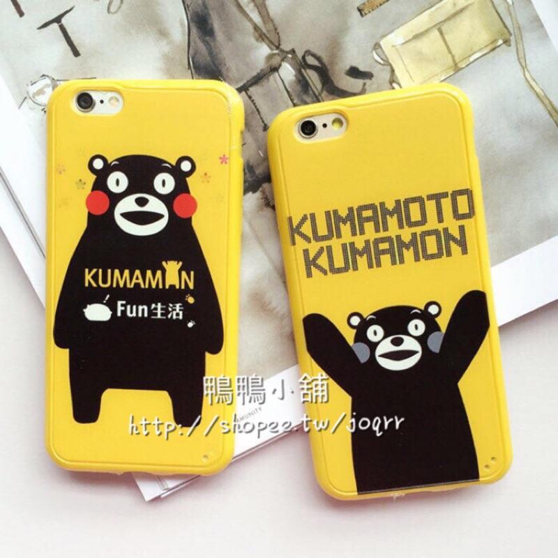 Kumamon 熊本熊手機熊本iPhone 6 iPhone6 Plus TPU 軟殼保護