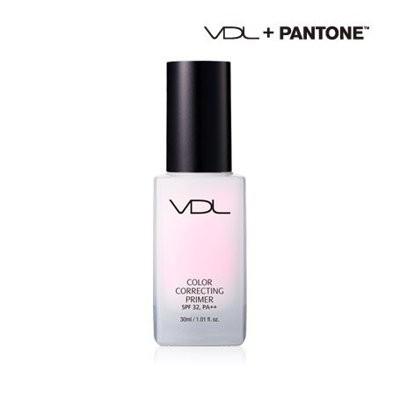 韓國VDL X Pantone 2016 聯名石英粉潤膚提亮妝前乳隔離霜飾底乳30ml 正