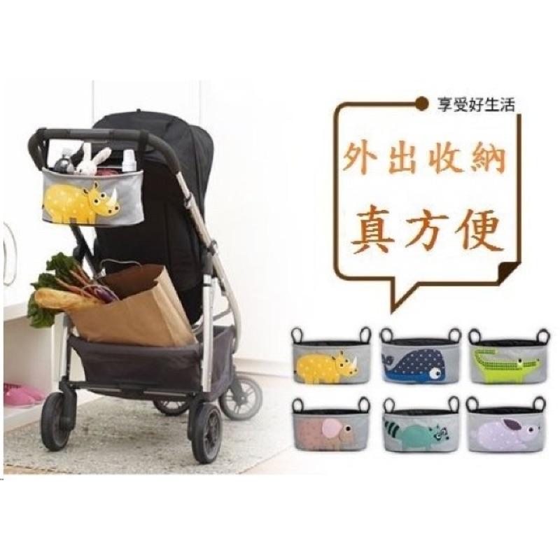 MARK 私房倉庫  中!多 嬰兒推車掛袋防水包收納包外出方便省力推車 媽媽包推車