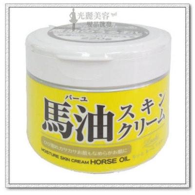光麗美容髮品 馬油Loshi 馬油保濕乳霜身體乳液220g