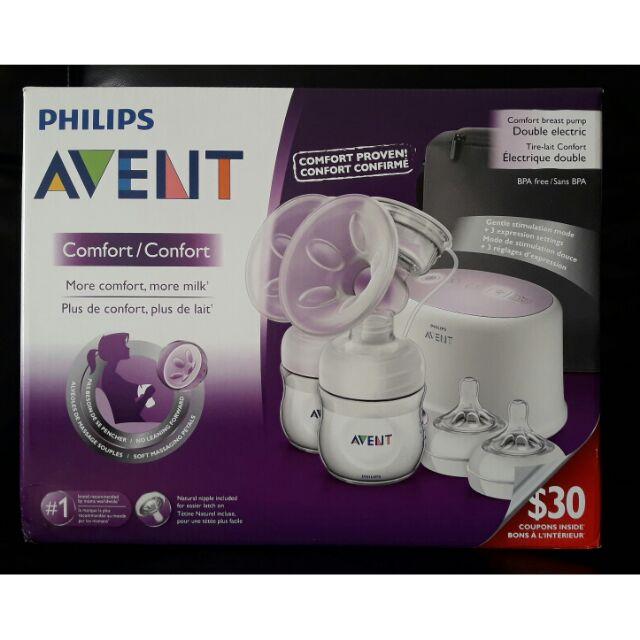 新安怡Philips Avent Double Electric 雙邊電動吸乳器Avent