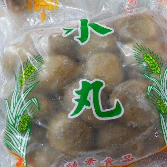 ~水丸~麵卷~香菇貢丸~600g ~素食