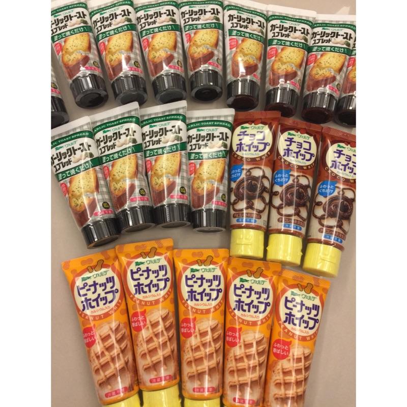 Hj papa (110 元)~中島董管裝吐司果醬吐司醬花生醬巧克力醬蒜味明太子80g