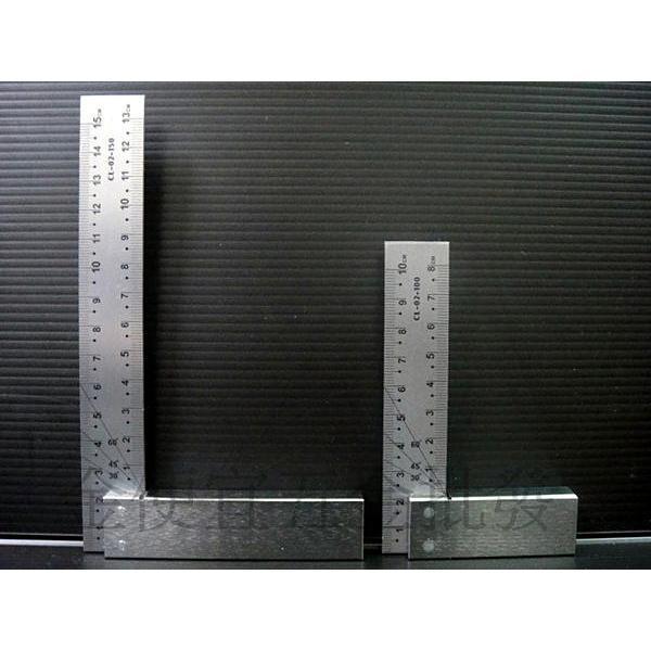 ~金 ~鐵工角尺鐵工尺木工用尺角規直角尺角度尺直角規曲尺有刻度8 吋6 吋4 吋台製
