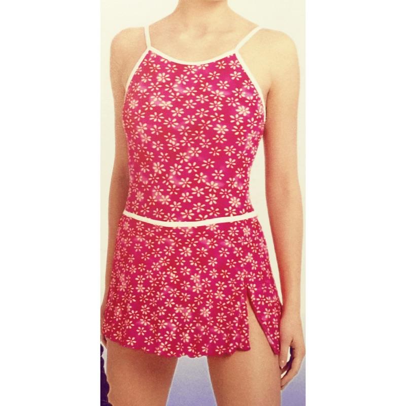 6108 連身裙泳衣